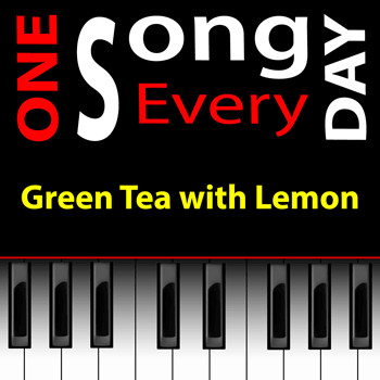 green tea with lemon cd cover